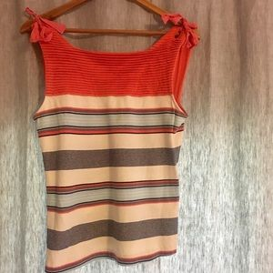 Cremieux Striped Top